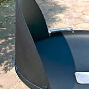 Pare vent barbecue Nielsen Balgrill